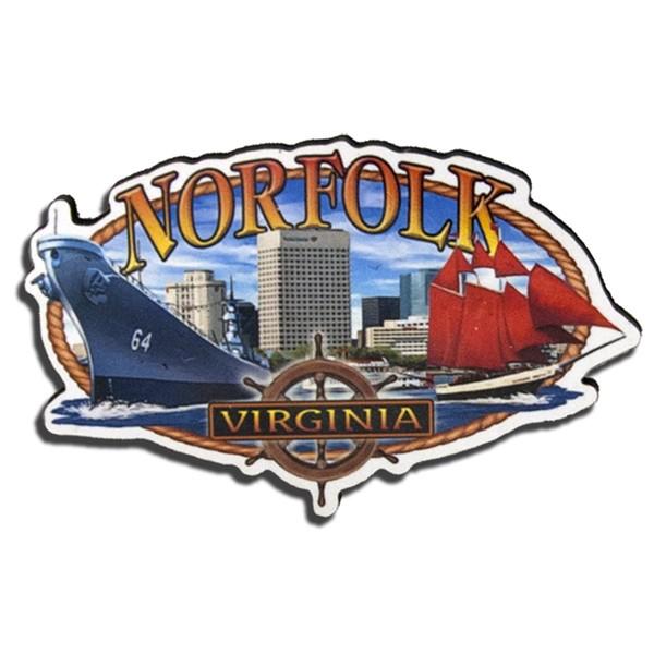 Virginia Is For Lovers Rotator Keychain